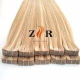 De lichte Band van het Haar van de Kleur Natuurlijke Getrokken Russische in de Uitbreiding van het Haar