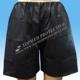Pantalon court non-tissé, boxeur remplaçable, boxeur de PP/SMS/pantalon