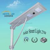 6W-100W impermeabilizzano IP65 tutto in un indicatore luminoso di via solare per esterno