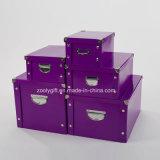 Multifonction deboîte de rangement pliable solide Bureau / Boîte de papier de l'emballage d'accueil