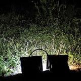 Sensor de movimiento Farol solar de 12 LED Jardín de Luz de emergencia