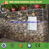 Gabion soldado jaula de piedra galvanizado sumergido caliente