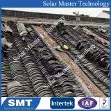 PV 태양 전지판 기와 지붕 알루미늄 마운트 부류 벽돌쌓기 시스템