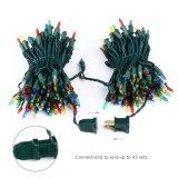 Púrpura 100 LED de 33 pies de las luces de la cadena Mini