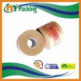 Ponsband van Kraftpapier van het Water van de Druk van het embleem de Natte Versterkte Voor Verpakking