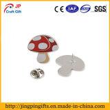 Personalizar a forma de cogumelo Pin de lapela para venda