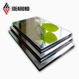 La taille extérieure Ideabond Polyester 3mm matériaux décoratifs feuille en aluminium