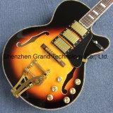 Double F Trou Bigsby Bridge guitare électrique (TJ-297)