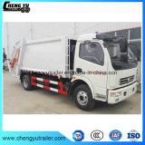 Dongfeng 4X2 7m3 쓰레기 압축 분쇄기 쓰레기 트럭