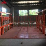 elevación de mercancías vertical eléctrica hidráulica resistente del cargo de la buena calidad de 1-5ton 10m con la certificación de la ISO del Ce