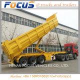 Cimc 3 Assen Vrachtwagen van de Aanhangwagen van de Stortplaats van de Aanhangwagen van 40 Ton de Semi