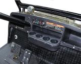 Carrello pratico con errori di caccia elettrica con il cestino posteriore dei bagagli