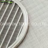 Edelstahl-Wasser-Vertiefungs-Keil-Draht-Bildschirme für Wasser-Filtration