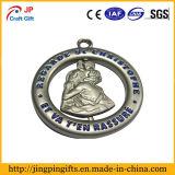 高品質の天使パターンMrtalカスタムメダル