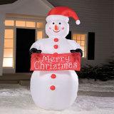 قابل للنفخ عيد ميلاد المسيح رجل ثلج لأنّ زخرفة