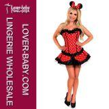 Commercio all'ingrosso di carnevale di Halloween più il costume di formato (L15326)