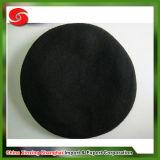 Boinas de la guarnición de la tela de la venda del cuero genuino de las lanas del 100%