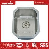 ステンレス鋼の台所の流し、鋼鉄流し、ステンレス鋼の単一の洗面器棒流し