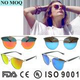 Lunettes de soleil 2016 de la mode des femmes en verre de Sun de cru de créateur UV400