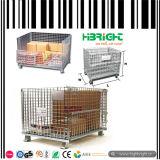 Contenitore della gabbia del collegare per memoria in supermercato