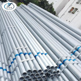 Fer Pre-Galvanized ronde Entreprises de construction de tuyaux en acier