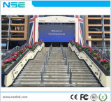 Nse P6 im Freien örtlich festgelegte Installation LED-Bildschirmanzeige für das Bekanntmachen