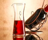 Separador de jarra de vidrio al por mayor para el licor y bebidas