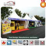 Petite tente pour la publicité mobile