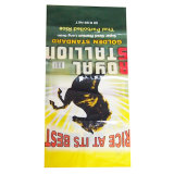 прокатанный BOPP сплетенный PP мешок риса животного питания 25kg упаковывая