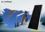 calle de 80W 9000lm LED/lámpara solares integradas todas juntas ligeras al aire libre del camino