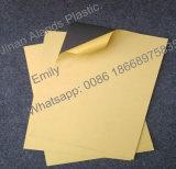 Hoja material del PVC del álbum de foto del PVC con el pegamento