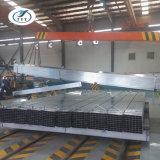 75X75 Tube tube carré/Tuyaux en acier galvanisé fabriqués en Chine