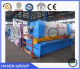 Corte hidráulico da guilhotina e máquina de estaca QC11Y-12X3200 da folha da placa de metal