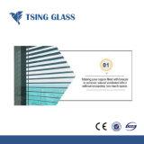 Diffuseur en verre en verre d'aération de 4-6mm pour le bâtiment de la porte de la fenêtre