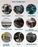 ステンレス製油圧出版物ブレーキ、油圧金属板ボックスベンダー
