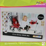 Lavorare piegante personalizzato del pacchetto di stampa del contenitore di imballaggio del carrello di bambino