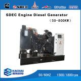 Conjunto de Gerador Diesel móvel/reboque gerador diesel 100kVA