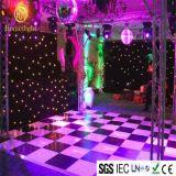 Schwarze LED Starlit DMX512 Dance Floor für Hochzeitsfest-Kugel