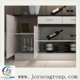 普及した白い卸し売り中国の木の食器棚