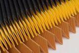 Alto desempenho e grande eficiência do filtro de papel de filtro de combustível líquido