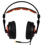 Наушников разыгрыша USB Sades A6 7.1 шлемофон стерео Шум-Отменяя с светом Mic СИД
