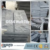 Pierre de granit gris chinois pour façade bombée Wall Tile