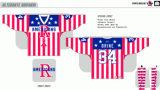 Hokey di ghiaccio americano personalizzato degli Americani 2009-2013 di Rochester della Lega di Hockey dei capretti delle donne degli uomini Jersey