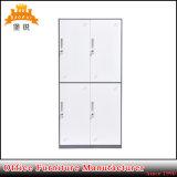 Jas-027 High School casiers en métal avec portes ventilée et étagère