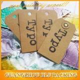 Одевая бирки Hang бумаги бирки Hang для одежды (BLF-T020)
