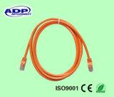 Cuerda de corrección de la alta calidad UTP Cat5e con los conectores RJ45