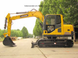 Nuevos excavadores de la correa eslabonada con el compartimiento 0.2-0.5m3