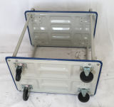 тележка инструмента коммерческой службы металла завальцовки 3-Tray промышленная черная