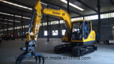 Nueva pequeña máquina amarilla de los excavadores de la correa eslabonada con la certificación ISO9001