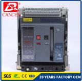 Disjuntores universais com câmara de ar Controler esperto de Nixie no atraso ou na função imediata 4p 6300A